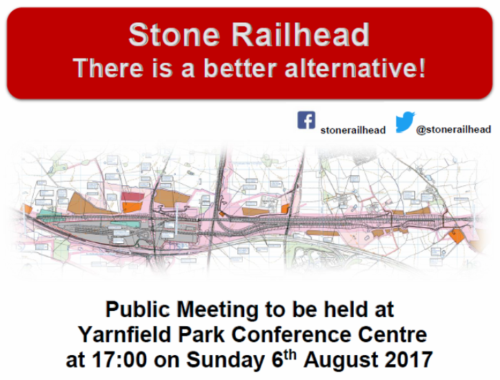 Public Meeting To Be Held At Yarnfield Park Conference Centre 1700 On 6th August 2017
